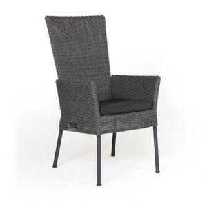 """Кресло из ротанга """"Somerset"""" регулируемое, цвет антрацит/серый"""