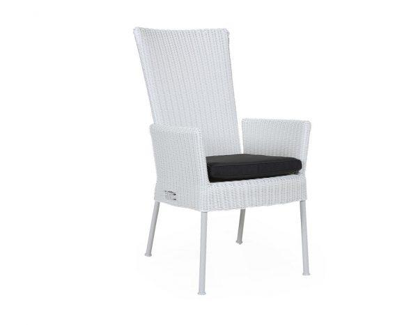"""Кресло плетеное """"Somerset"""" регулируемое, цвет белый"""