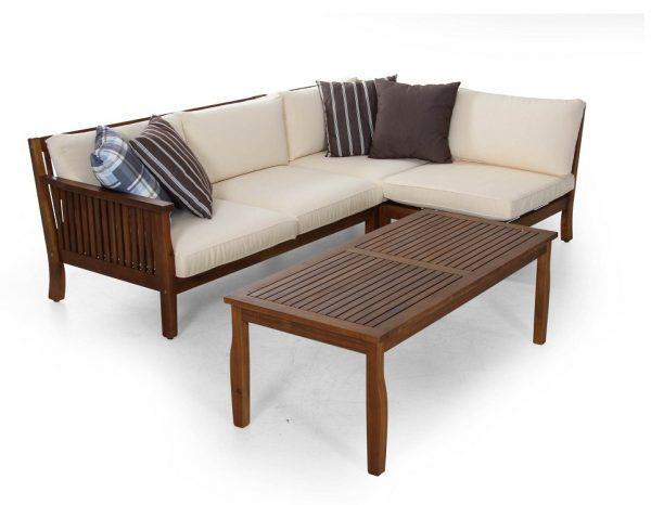 """Комплект садовой мебели из акации """"Dallas"""" Brafab"""