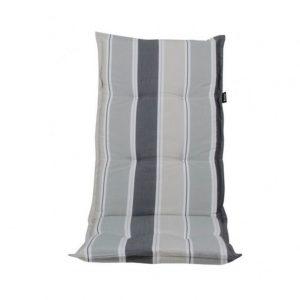 """Подушка на кресло """"Naxos"""", цвет серый в полоску"""