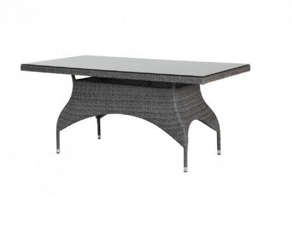 Стол из ротанга «Ninja grey» 160х90 см, Brafab