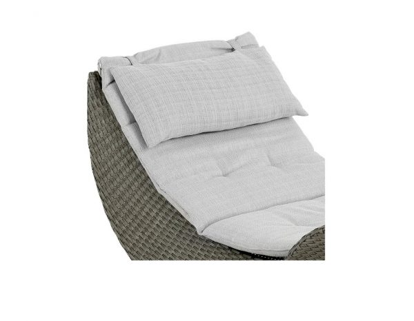 """Подушка на лежак """"Ocean"""", цвет серый"""