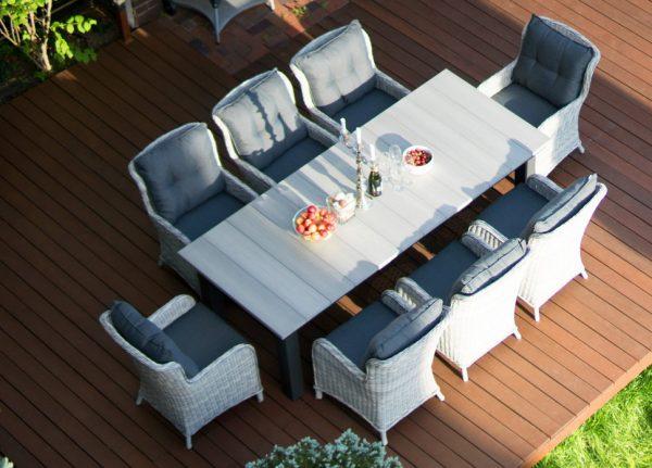 """Стол садовый """"Парклэнд"""", 240x100 см, цвет серый"""