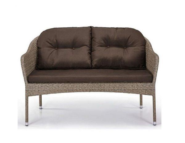 """Плетеная мебель """"Альер light brown"""""""