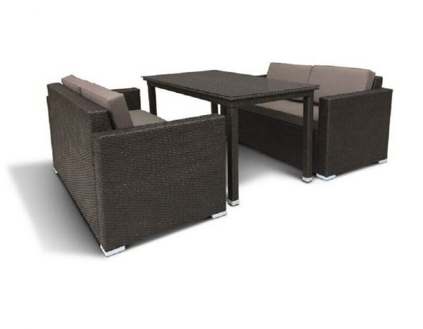 """Плетеная мебель """"Эвора brown"""""""