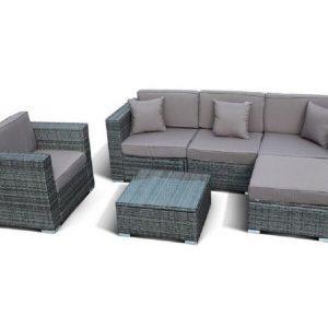 "Плетеная мебель ""Альер"", цвет серый"