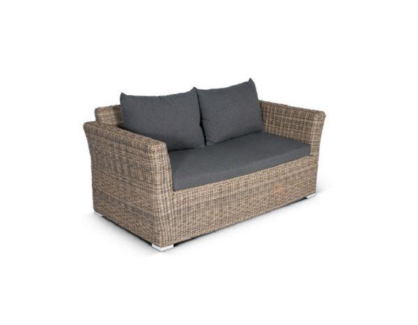"""Плетеный диван """"Капучино"""", 2-х местный"""