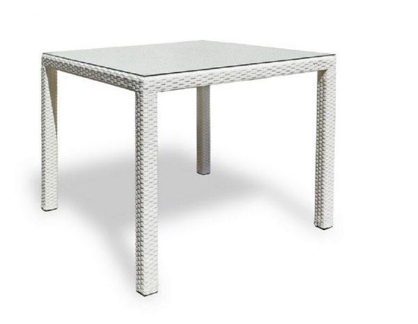 """Плетеный стол """"Milano white"""""""
