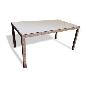 "Плетеный стол ""Rome"", 150×90 см"