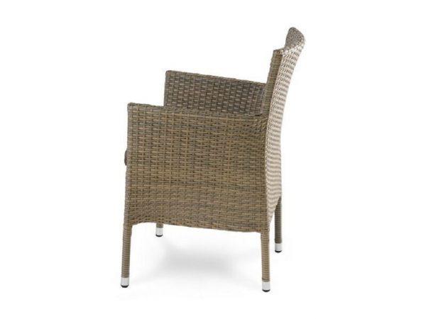 """Плетеное кресло """"Aroma brown"""", обеденное"""