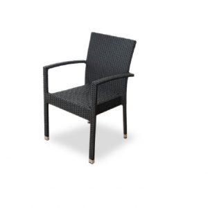 """Плетеный стул """"Milano black"""""""