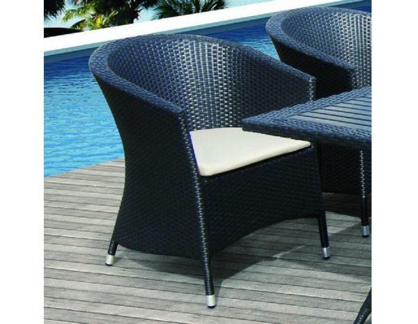 "Плетеное кресло ""Ibiza"", обеденное"