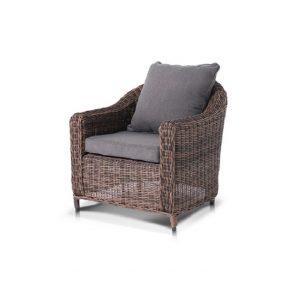 """Плетеное кресло """"Кон Панна"""", цвет темно-коричневый"""