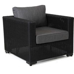 """Кресло из искусственного ротанга """"Ninja black"""" Brafab"""