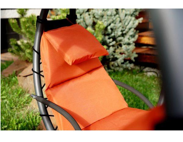 """Подвесное кресло-шезлонг """"Luna-Concept"""", цвет оранжевый"""