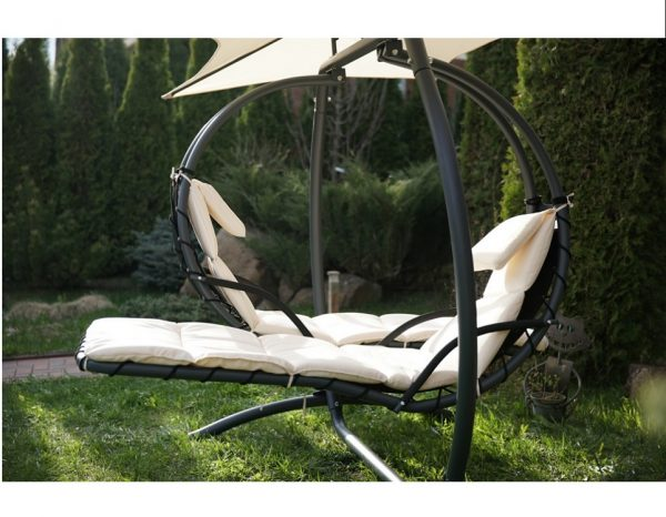 """Подвесное кресло-шезлонг """"Luna-Concept"""", цвет белый"""