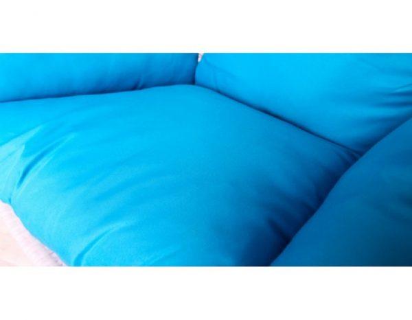 """Подвесное плетеное кресло """"Paradiso"""" KM-0031 big blue"""