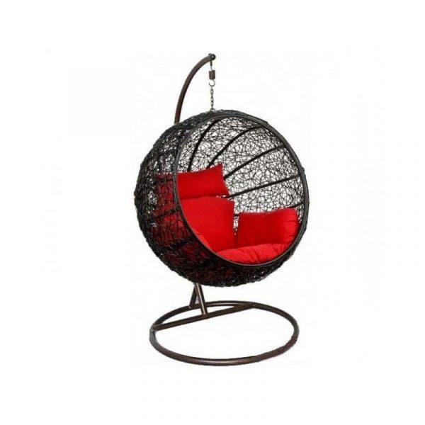"""Подвесное плетеное кресло """"Kokos Black"""""""