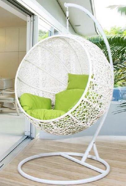 """Подвесное плетеное кресло """"Kokos White"""""""