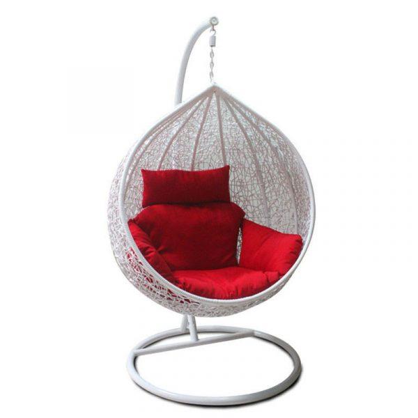 """Подвесное плетеное кресло """"Tropica white"""""""