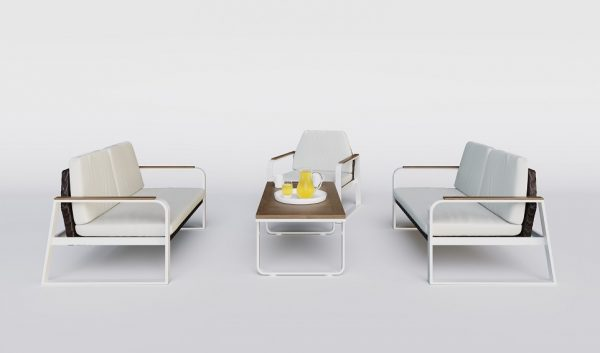 """Комплект садовой мебели из алюминия """"Bella"""""""
