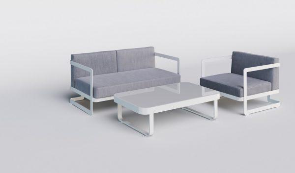 """Комплект садовой мебели из алюминия """"Villino"""""""