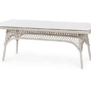 Плетеный стол «Beatrice white», 220 x 100 см