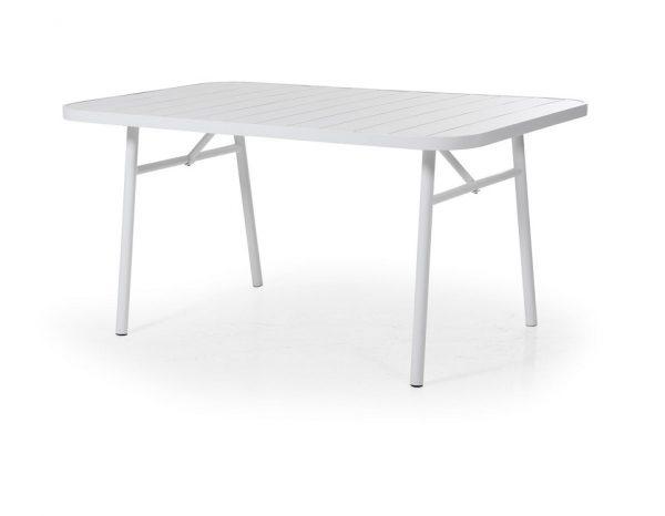 """Стол уличный алюминиевый """"Carnac"""", 162х90 см, цвет белый"""