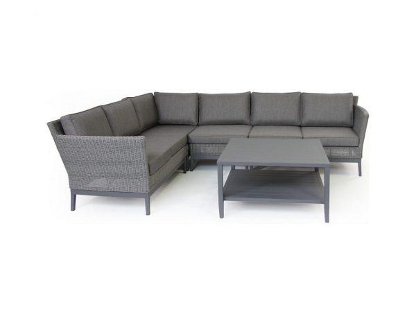 """Стол """"Chelles"""", 142x65 см, цвет черный/антрацит"""