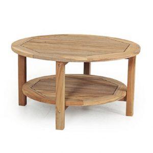 """Стол из тика """"Collin"""" 90 см"""