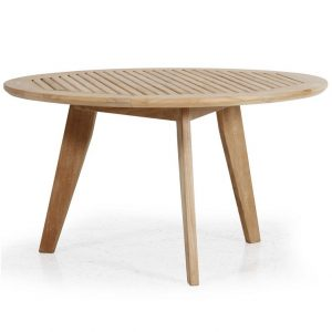 """Стол из тика """"Kastos"""", диаметр 90 см"""