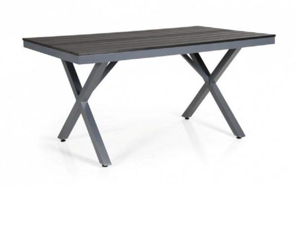"""Стол садовый алюминиевый """"Leone"""" 150 серый Brafab"""