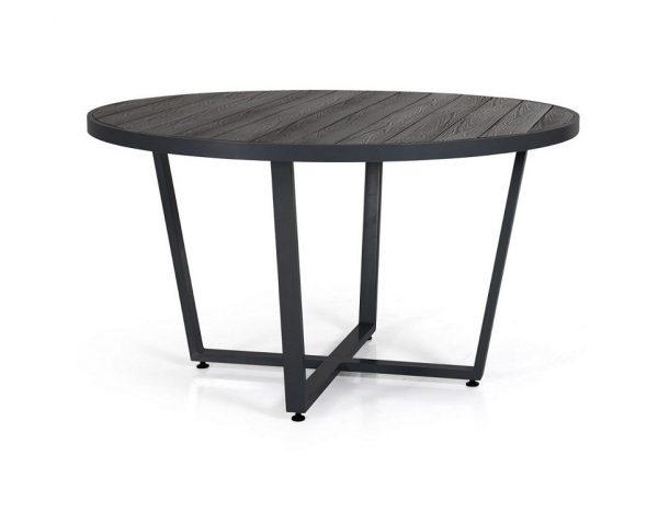 """Стол """"Leone"""", диаметр 130 см, цвет черный/антрацит"""