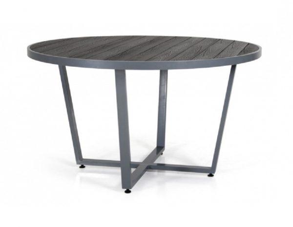 """Стол """"Leone"""" диаметр 130 см, цвет серый"""