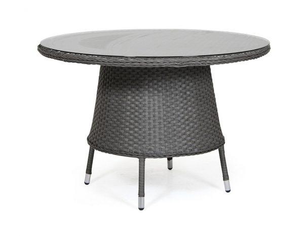 """Стол из искусственного ротанга """"Colby grey"""" D 110 см"""
