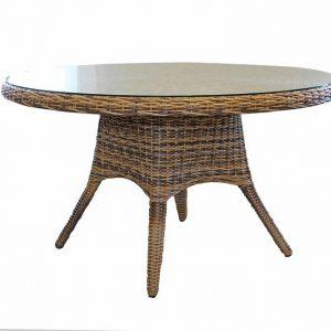 """Стол """"Sandiego"""" диаметр 130 см, цвет коричн. микс"""