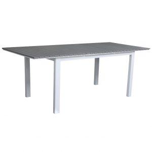 """Стол садовый раздвижной """"Tilos"""" 154/210 см, цвет белый Brafab"""