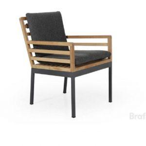 """Кресло из тика """"Zalongo"""" обеденное Brafab"""