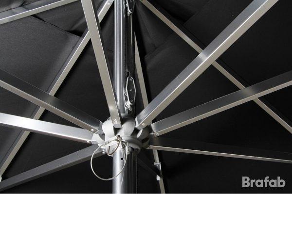 """Садовый зонт """"Arezzo"""", цвет черный"""