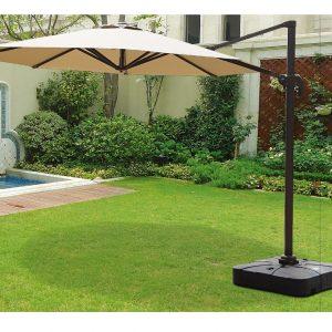 "Садовый зонт ""GardenWay А002-3000"", цвет бежевый"