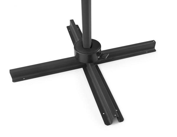 """Садовый зонт """"Linz"""", цвет черный/серый"""