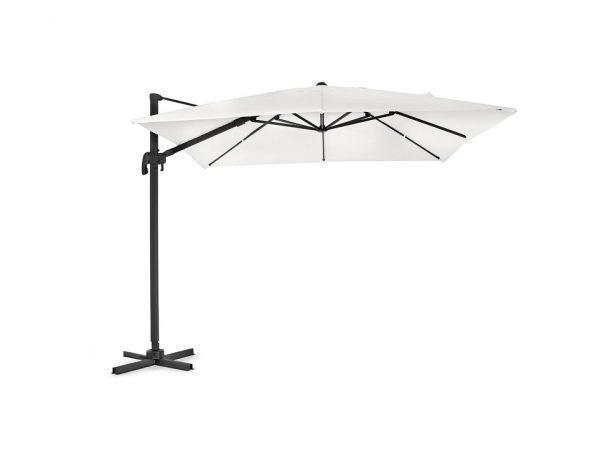 """Садовый зонт """"Linz"""", цвет черный/бежевый"""