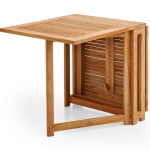 "Стол из тика раскладной ""Turin"", 146x70 см"
