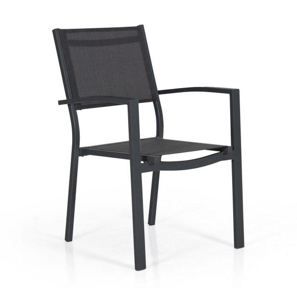 """Кресло из текстилена """"Leone"""", цвет черный Brafab"""