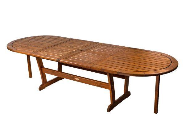"""Стол из сосны """"Solberga"""" раскладной 196/302×110 см"""