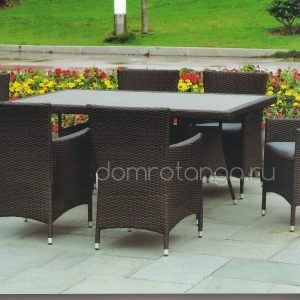 Плетеная садовая мебель «Samurai» black