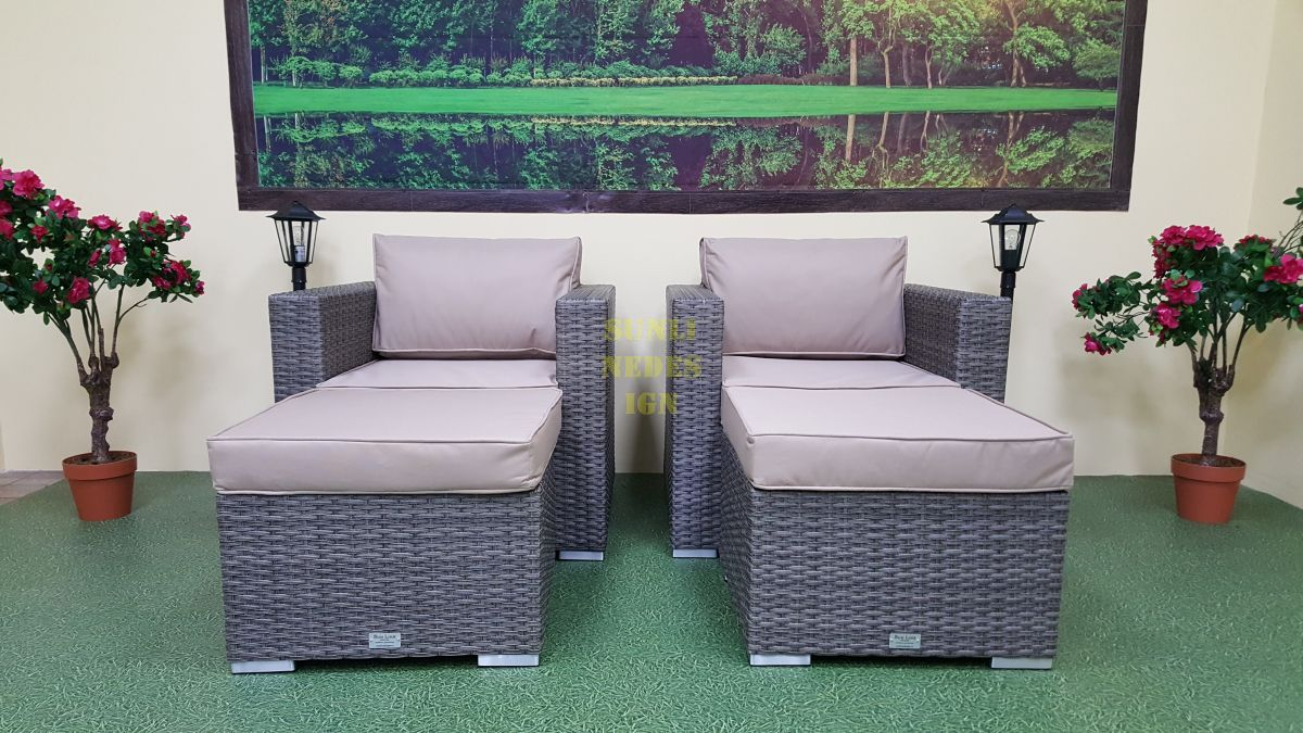 """Плетеная мебель """"Allegro"""" natur&beige relax"""