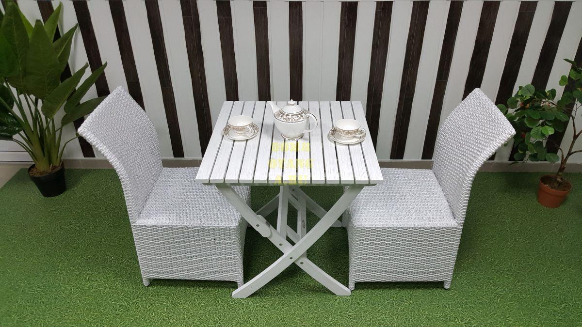 """Комплект плетеной мебели """"Arizona"""" 2 white"""