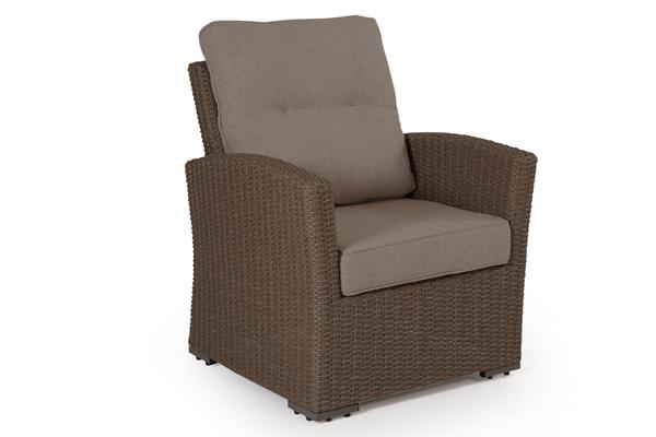 """Кресло из искусственного ротанга """"Ashfield"""" beige Brafab"""