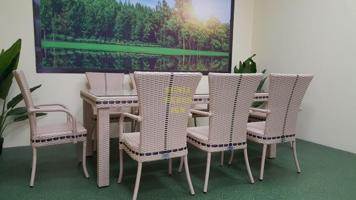 """Плетеная мебель """"Aurora"""" beige 8"""